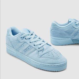 Adidas Baby Blue Rivalry Low Streetwear Sneakers💙